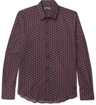 Vilebrequin Printed Cotton-Voile Shirt