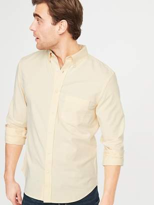 Old Navy Slim-Fit Built-In Flex Everyday Oxford Shirt For Men d89599e60