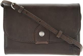Frye Leather Melissa Wallet Crossbody Bag