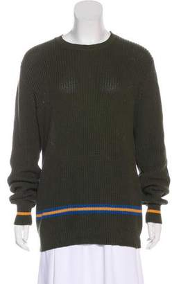 Golden Goose Intarsia Long Sleeve Sweater