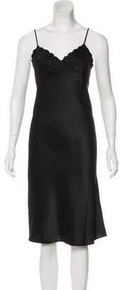 Blumarine Satin Midi Dress