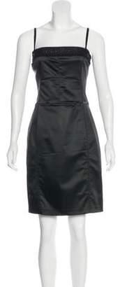 John Galliano Sleeveless Mini Dress