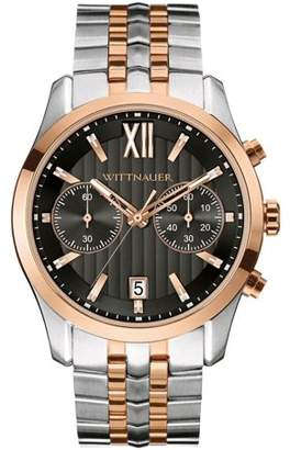Wittnauer Two-Tone Chronograph Mens Watch WN3035