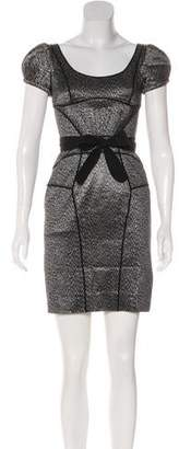 Zac Posen Printed Knee-Length Dress