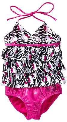 Hello Kitty Zebra Tankini (Little Girls)