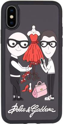 Dolce & Gabbana Family iPhone X Case