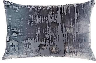 Kevin OBrien Kevin O'Brien Burnout Silk Velvet Pillow