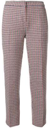 Pinko checked trousers