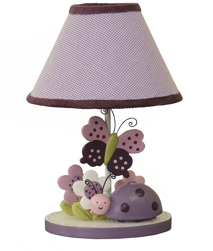 Lambs & Ivy luv bugs lamp