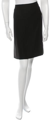 pradaPrada A-Line Knee-Length Skirt