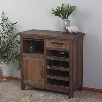 Winsome House Wine Station Wood Console Cabinet