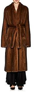 The Row Women's Paret Mink-Fur Coat - Amber