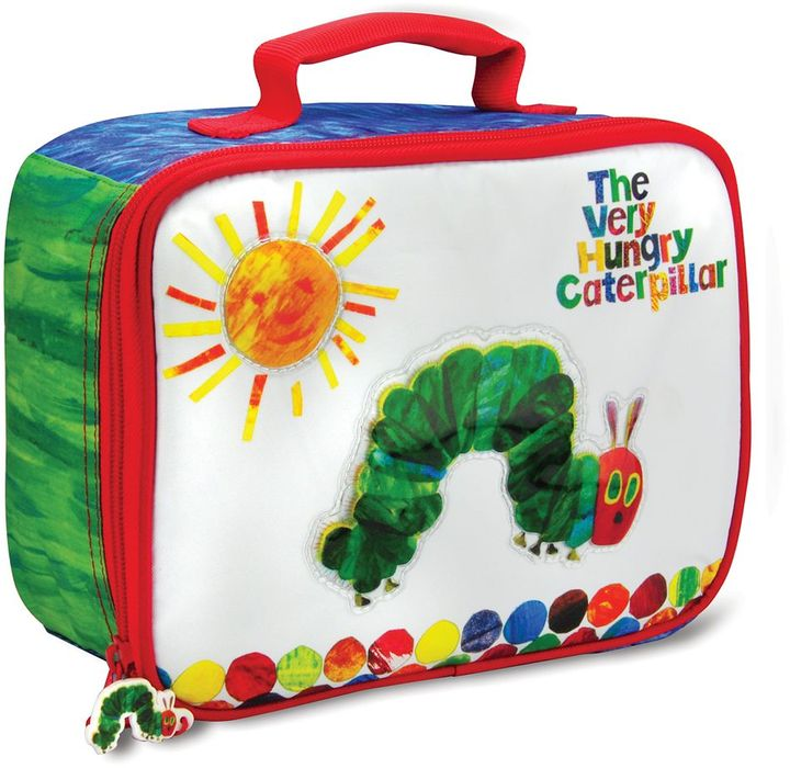 """Eric Carle Kids preferred the world of the very hungry caterpillar"""" lunch bag"""