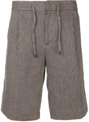 Brunello Cucinelli pinstriped shorts
