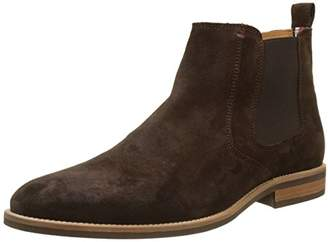 Tommy Hilfiger ESSENTIAL SUEDE CHELSEA BOOT, Men's Chelsea Boots Chelsea Boots,(44 EU)