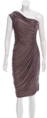 La Petite S***** One-Shoulder Mini Dress Grey One-Shoulder Mini Dress