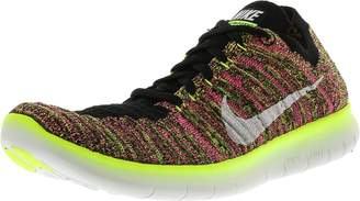 Nike Women's Free Rn Flyknit Multi-Color / Ankle-High Running Shoe - 8M
