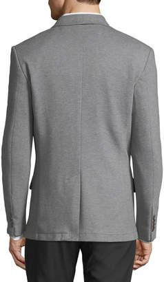 Jachs Ny Pique-Knit Blazer, Gray