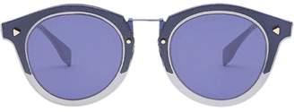 Fendi Eyewear FF rounded sunglasses