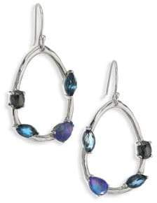 Ippolita 925 Rock Candy Gelato Semi-Precious Multi-Stone Drop Earrings