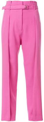 3.1 Phillip Lim belted tapered trousers