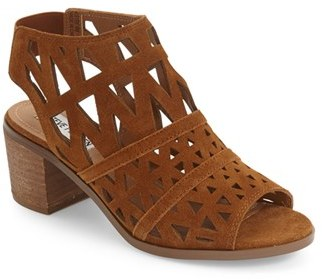 Women's Steve Madden 'Estee' Leather Sandal $109.95 thestylecure.com