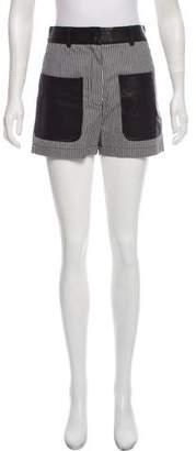 Proenza Schouler Striped Mini Short