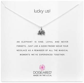 Dogeared Lucky Us Necklace, 16""