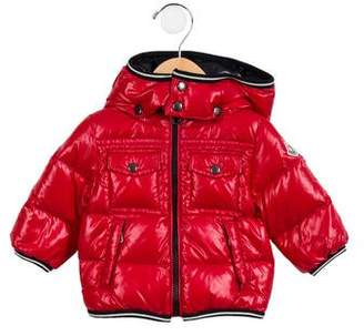 Moncler Boys' Hooded Puffer Coat