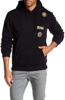 TR PREMIUM TR Premium Mens Fashion Fleece Ripped Hoodie