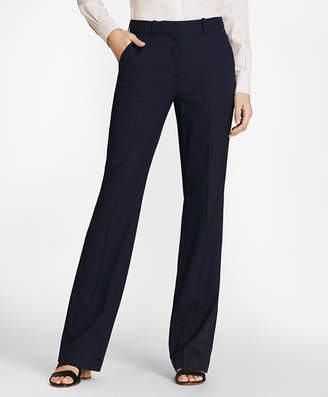 Brooks Brothers Mini-Check Wool BrooksCool Pants