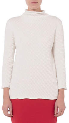 French Connection Molly Mozart Knit Cotton Sweater