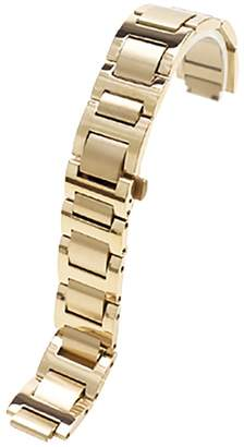 Cartier Span Realm Solid Stainless Steel Convex Strap C-A-R-T-I-E-R Replacement 14/18/20/22mm (, 14)