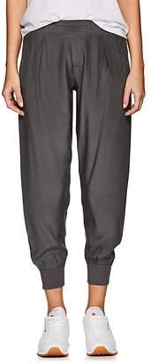 ATM Anthony Thomas Melillo Women's Silk Jogger Pants