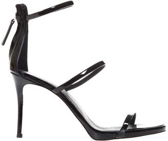 Giuseppe Zanotti Harmony Black Patent Leather Sandals