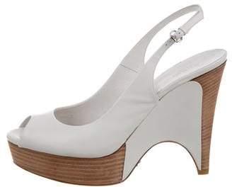 Gucci Wimbledon Slingback Sandals