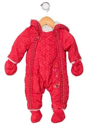 Catimini Infant Girls' Hooded Outerwear All-In-One w/ Tags