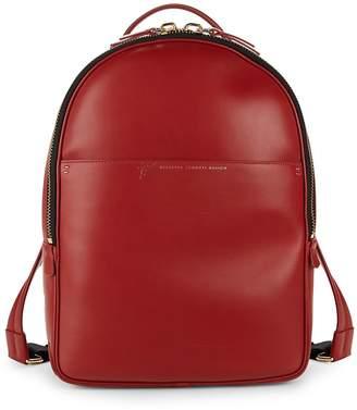 Giuseppe Zanotti Basic Leather Backpack