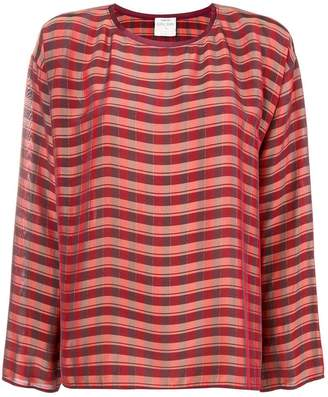 Forte Forte checked boxy blouse