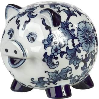 Pols Potten Piggy Bank Porcelain Pig