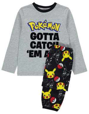CAT George Pokémon Gotta Catch 'Em All Pyjamas