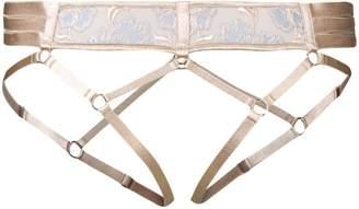 Bordelle Bondage Harness suspenders