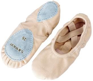 5fc76cf79cda s.lemon All-Round Elastic Canvas Ballet Dance Shoes Stretch Ballet Slippers  Flats Pumps