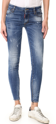 DSQUARED2 Twiggy Jeans $580 thestylecure.com