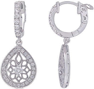 Diamond Select Cuts 14K 0.77 Ct. Tw. Diamond Teardrop Earrings
