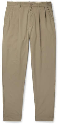 Cav Empt Tapered Pleated Ripstop Chinos