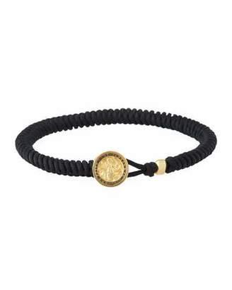 David Yurman Men's Saint Christopher Woven Bracelet