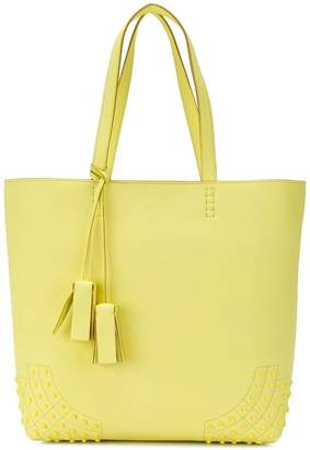 Tod's Wave shopper tote