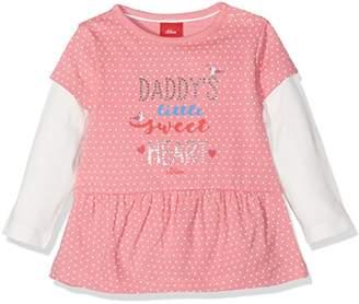 S'Oliver Baby Girls' 65.708.31.7245 Longsleeve T-Shirt