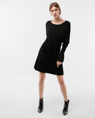 Express Corset Waist Sweater Dress